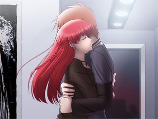 Kaiden & Alyssa Hugging